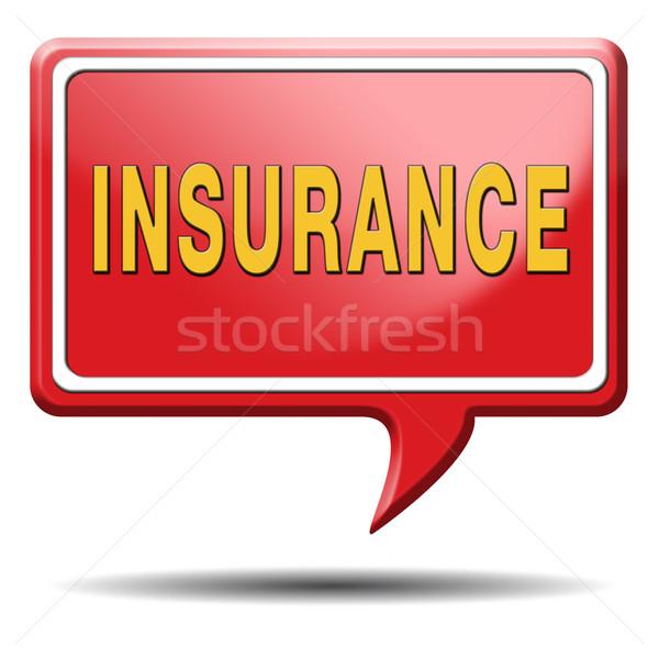 insurance Stock photo © kikkerdirk