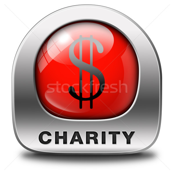 charity icon Stock photo © kikkerdirk