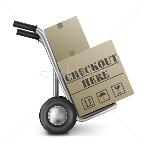 checkout here Stock photo © kikkerdirk