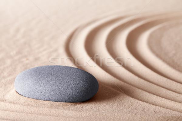 zen meditation stone Stock photo © kikkerdirk