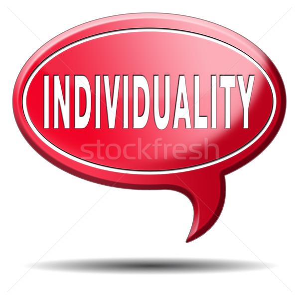Individualité foule différent personnalité Photo stock © kikkerdirk