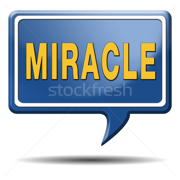 miracle Stock photo © kikkerdirk