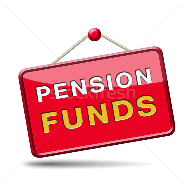 pension fund Stock photo © kikkerdirk