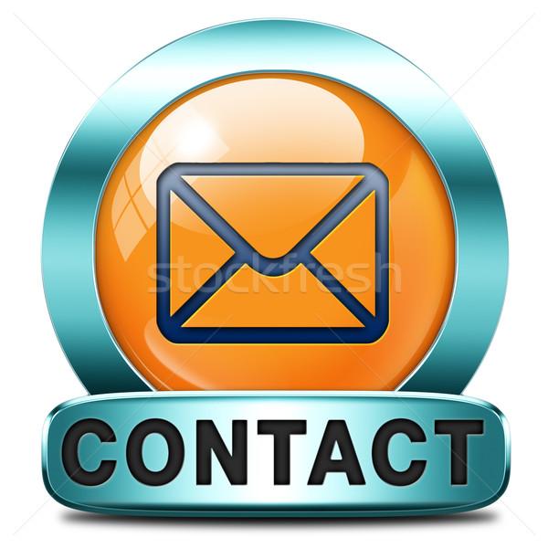 contact adress Stock photo © kikkerdirk