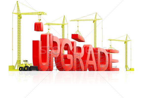 upgrade  Stock photo © kikkerdirk