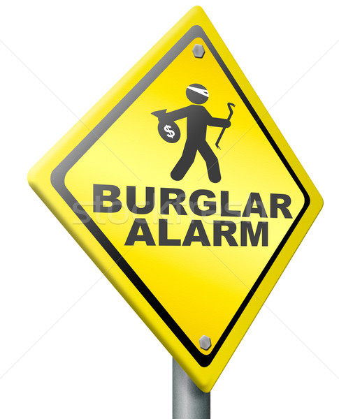 burglar alarm prevention Stock photo © kikkerdirk