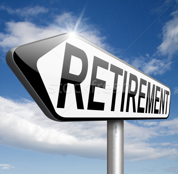 retirement Stock photo © kikkerdirk