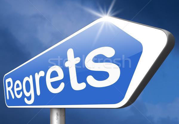 Assinar não provérbio oferecer Foto stock © kikkerdirk