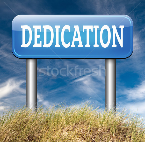 dedication Stock photo © kikkerdirk