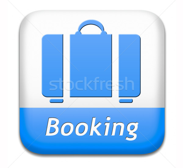 booking vacation ticket Stock photo © kikkerdirk