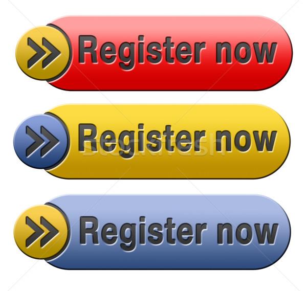 register now Stock photo © kikkerdirk