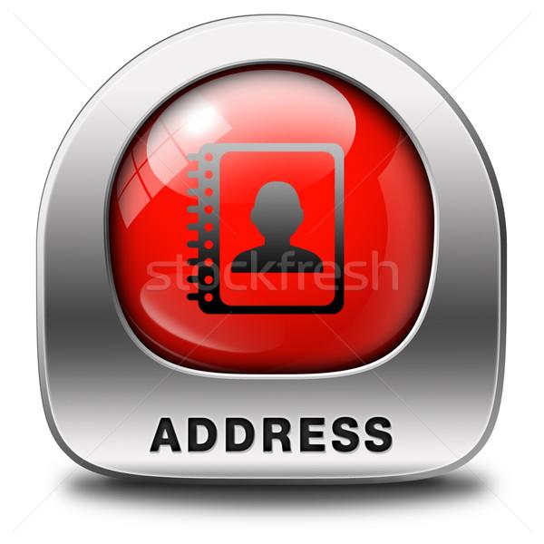 address Stock photo © kikkerdirk