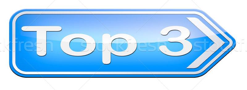 Felső táblázatok diagram pop szavazás eredmények Stock fotó © kikkerdirk