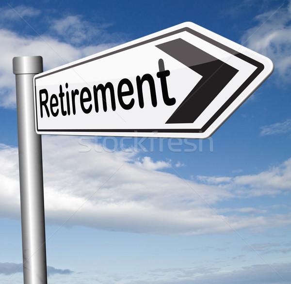 Stock photo: retirement