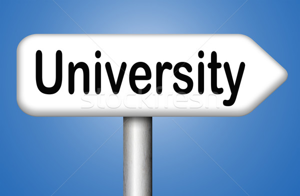 Université éducation graduation étude demande Photo stock © kikkerdirk
