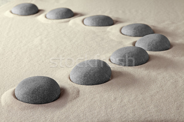 rocks in sand  Stock photo © kikkerdirk
