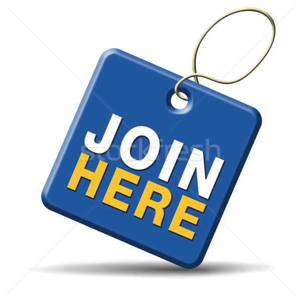 join here icon Stock photo © kikkerdirk
