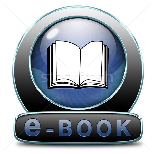 ebook download Stock photo © kikkerdirk