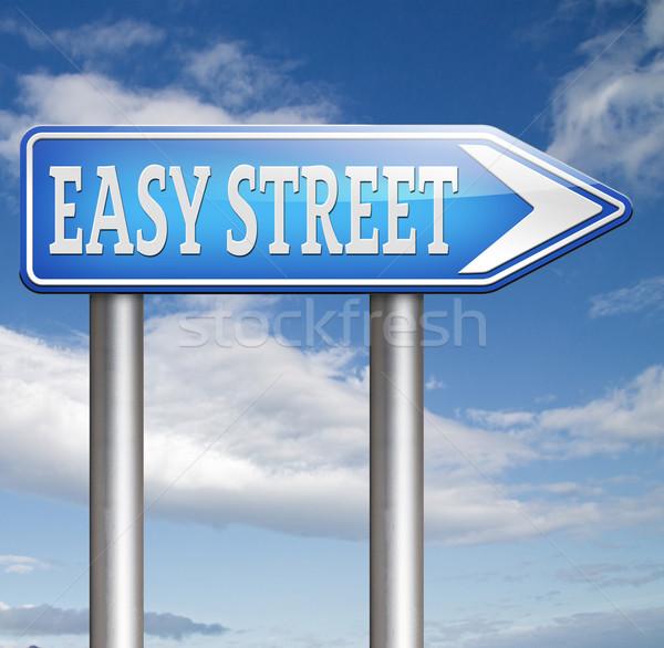 easy street Stock photo © kikkerdirk