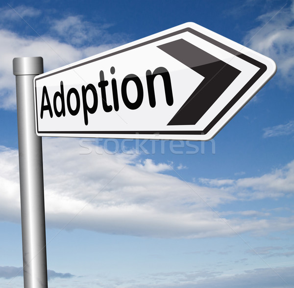 adoption Stock photo © kikkerdirk