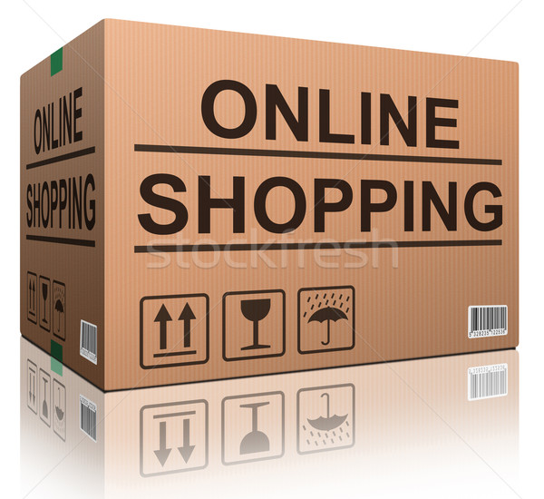 online shopping Stock photo © kikkerdirk