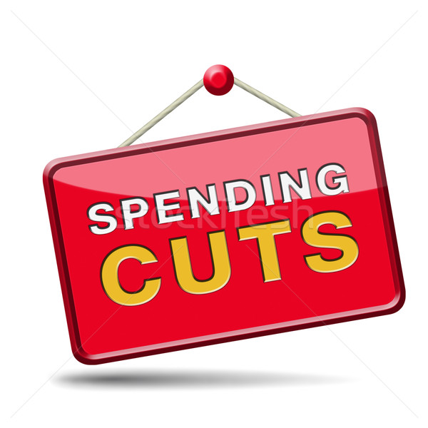 spending cuts Stock photo © kikkerdirk