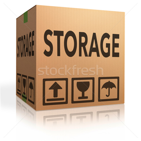 storage box Stock photo © kikkerdirk