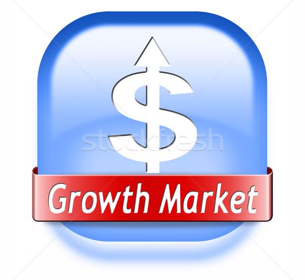growth market Stock photo © kikkerdirk