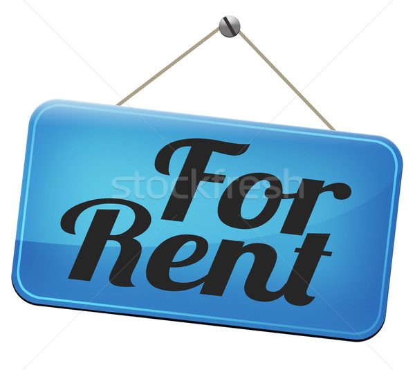 for rent Stock photo © kikkerdirk