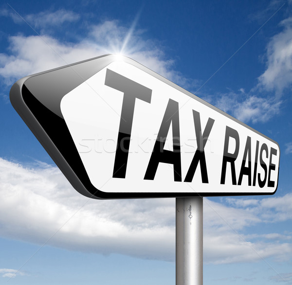 Vergi vergi para finanse Stok fotoğraf © kikkerdirk