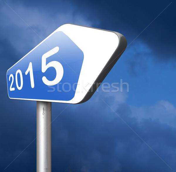 2015 ano novo próximo ano novo começar Foto stock © kikkerdirk