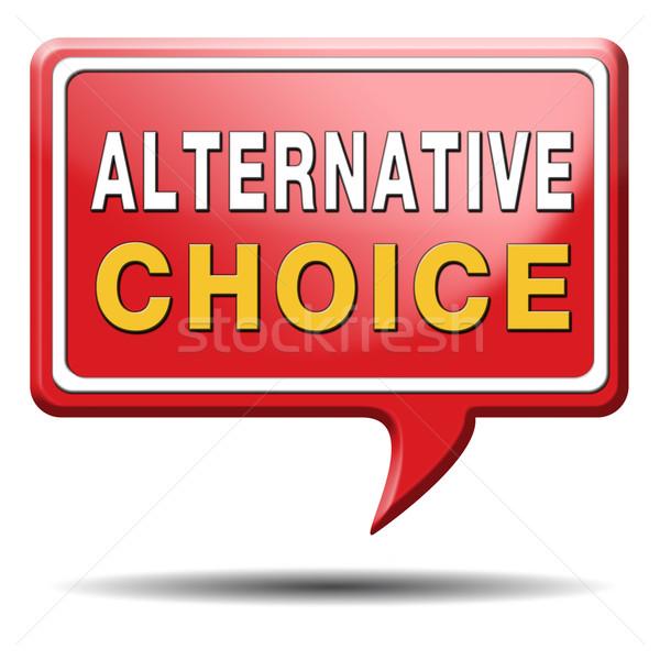 alternative choice Stock photo © kikkerdirk