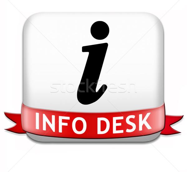 info desk Stock photo © kikkerdirk