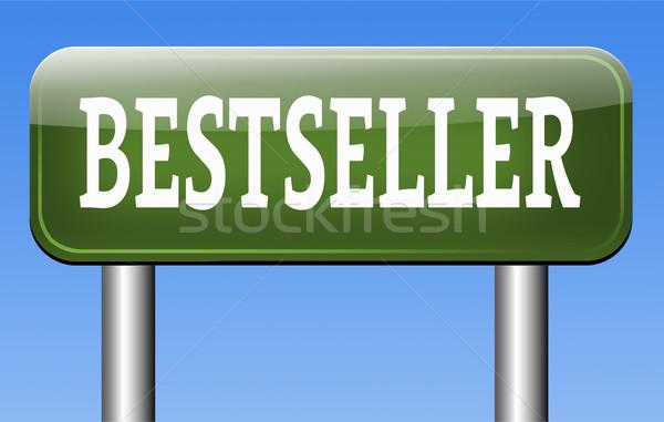 Bestseller nu top product populair gezocht Stockfoto © kikkerdirk