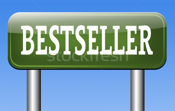 Bestseller agora topo produto popular Foto stock © kikkerdirk
