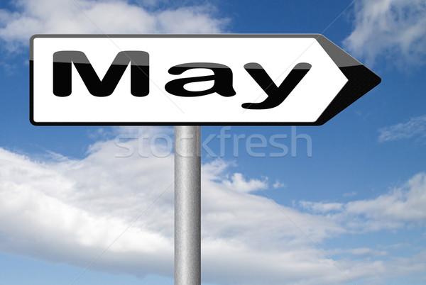 next May Stock photo © kikkerdirk