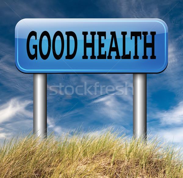Good health Stock photo © kikkerdirk