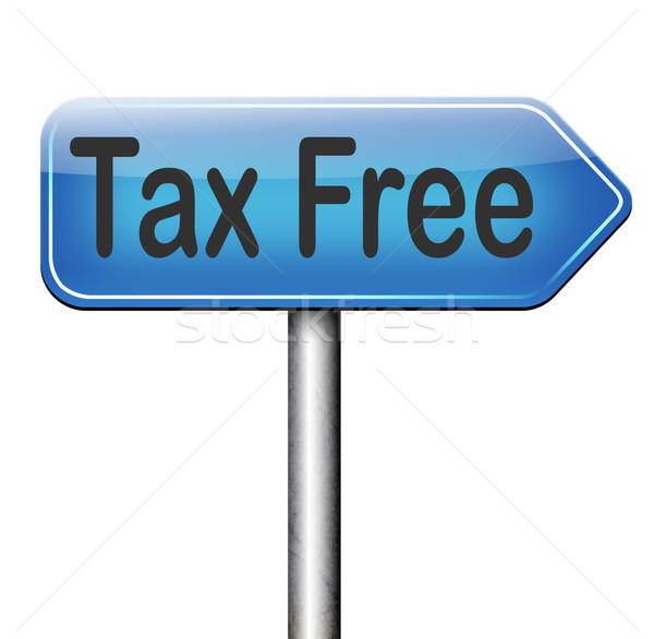 tax free Stock photo © kikkerdirk