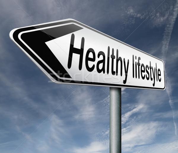 healthy lifestyle Stock photo © kikkerdirk