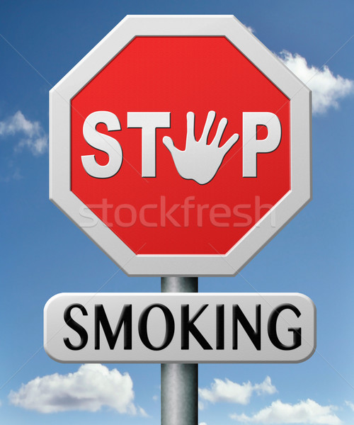 stop smoking Stock photo © kikkerdirk