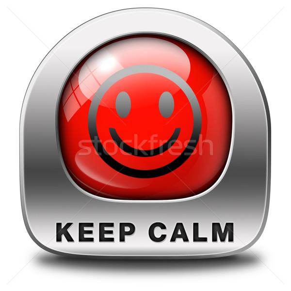 keep calm Stock photo © kikkerdirk