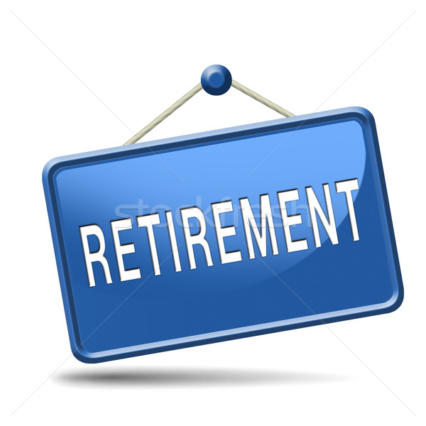 retirement Stock photo © kikkerdirk