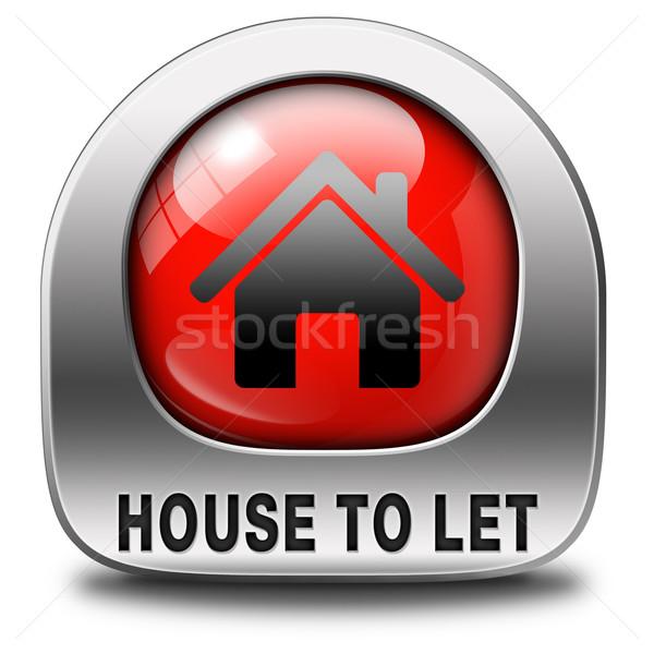 house to let Stock photo © kikkerdirk