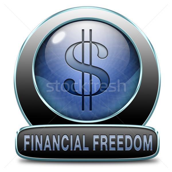 financial freedom Stock photo © kikkerdirk
