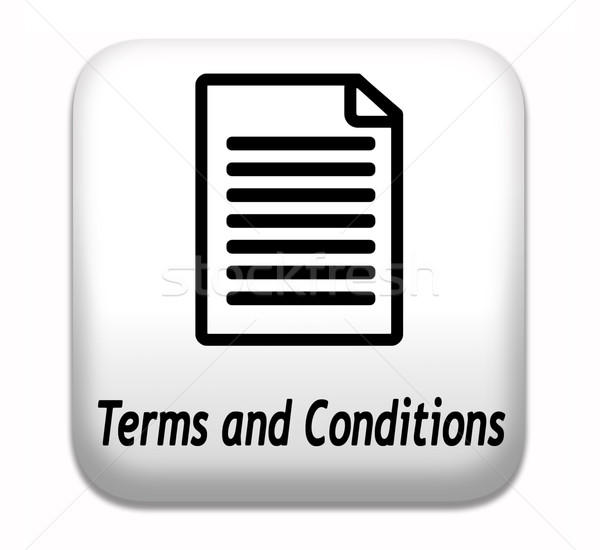 terms and conditions Stock photo © kikkerdirk