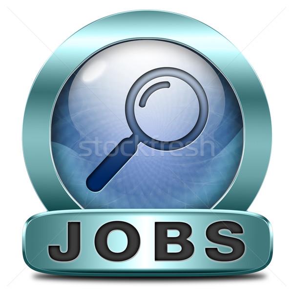 Recherche d'emploi trouver rêve carrière déplacer Photo stock © kikkerdirk