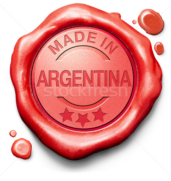 Argentina original produto comprar local autêntico Foto stock © kikkerdirk
