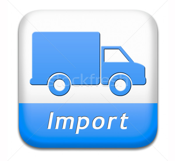 import international trade Stock photo © kikkerdirk