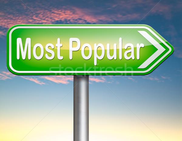 most popular Stock photo © kikkerdirk