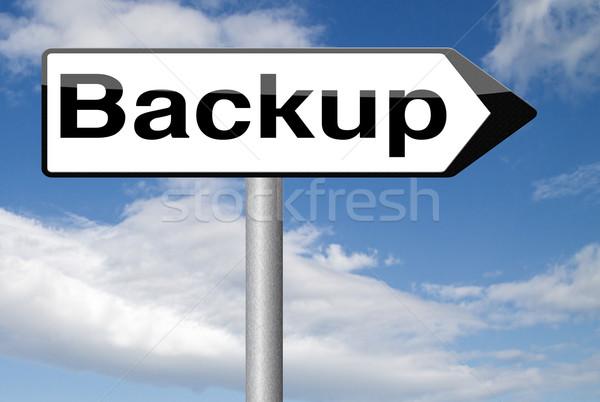 back up Stock photo © kikkerdirk